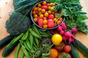 come fare orto raccolta